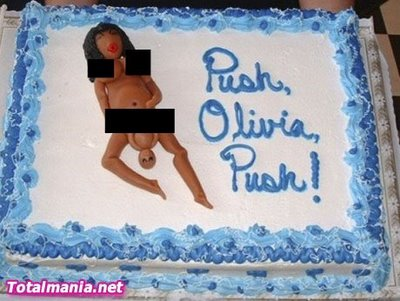 Creepy Baby Shower Cakes Gone Bad