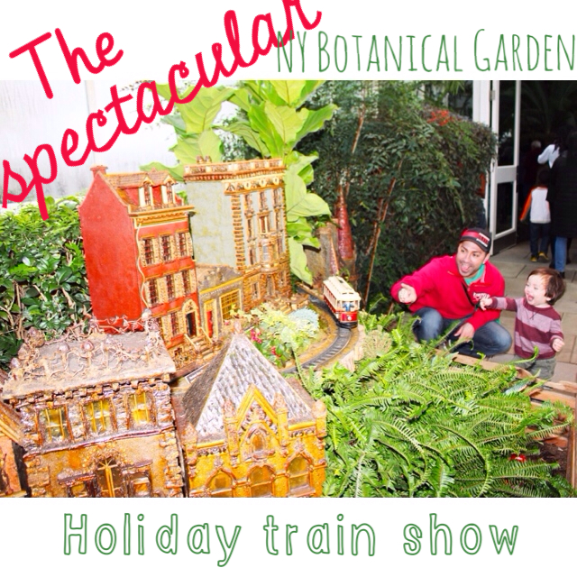 Kids Holiday Events A Day In The Bronx Holiday Train Show Football Food Motherhood
