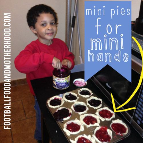 Finger Foods for Kids Parties – Mini Pies for Mini Hands