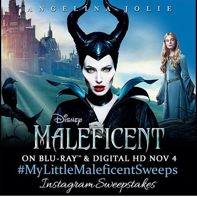 #MyLittleMaleficentSweeps - totally excited for bad ass Angelina over and over lol. ? Share your child's mischievous and villainous moments for a chance to win Disney prizes. Enter at http://bit.ly/MLMSweeps #ad