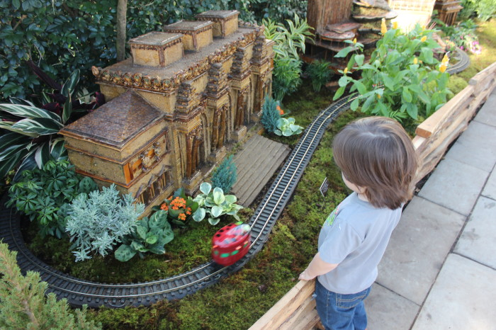 Maximo's Favorite Holiday Exhibit – The NYBG Holiday Train Show