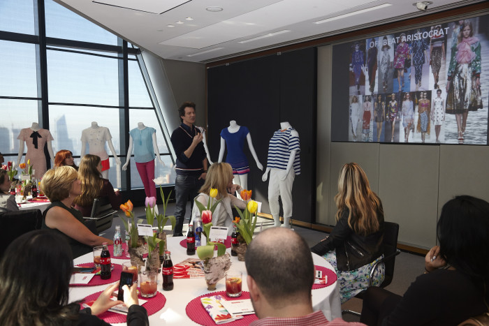 Adam Glassman Says Shoulders, Ruffles and Color are in for Spring