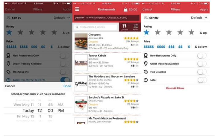 Life hack of the week: Pre-schedule Your Meal Delivery on Grubhub
