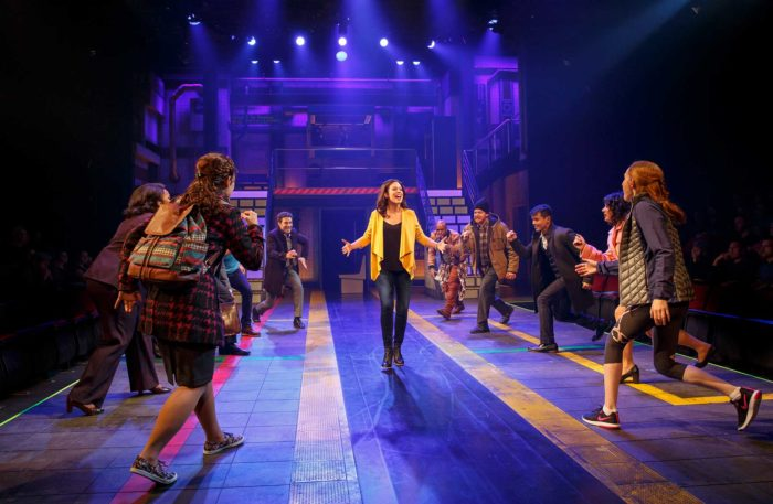 Broadway's First A Capella Musical: in transit