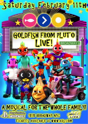 Live from Broadway: Goldish From Pluto