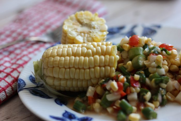 Spring, Sunshine and Sweet Corn